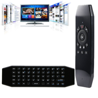 Universal Rechargeable 2.4g RF Wireless Mini Usb Airmouse onida Smart Android TV Box IR Remote Control Air Fly Mouse Keyboard T5