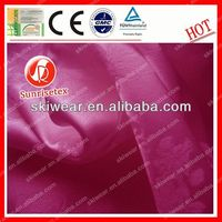 Shiny static free elastic woven satin material
