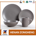 matt color nice lookings 16pcs new design ceramic tableware/dinner ware set