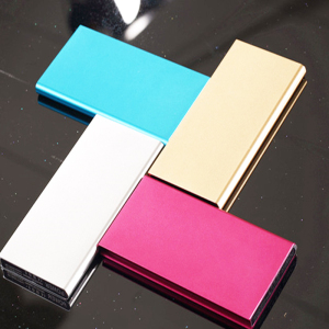 Ultra Thin Power Bank 10000mAh Portable Universal LED Mobile Phone Charger External Battery Bank for Cell Phones Laptop Macbook