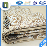 100% polyester home textile fabric satin to make bedding set