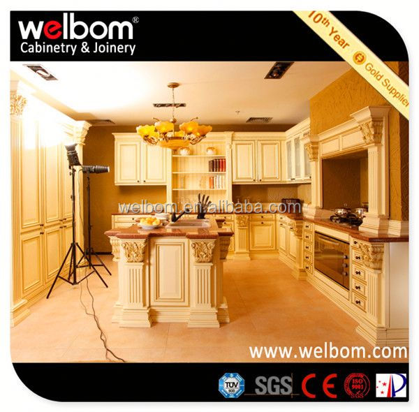2013 WELBOM Best Selling Color Combination Kitchen Cabinet