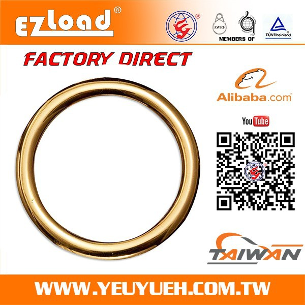 3 Inch 75mm Welded Metal Rings for 1 Ton Polypropylene Jumbo Bag