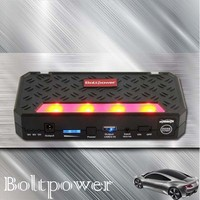 Power Bank Station and Power Battery Charger with Built-in LED Flashlight for Night Illumination