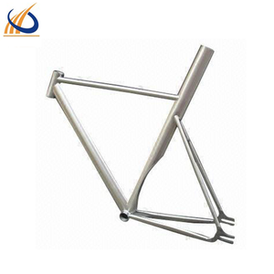 Chinese manufacturer titanium bicycle frame for road bike with standard BB68