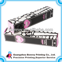 cosmetic transparent window packaging box