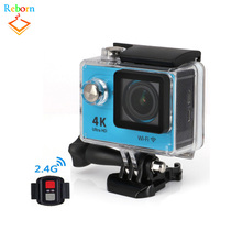 Wholesale Alibaba Best Qaulity H9 4K HD Sports Wifi Video Action Camera With Remote