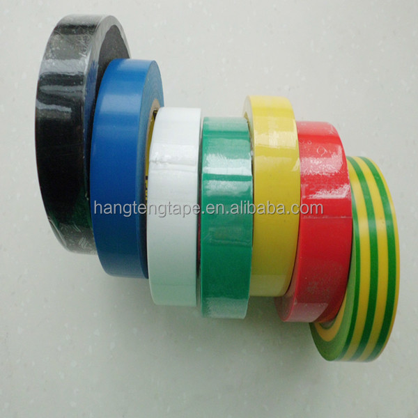 Alibaba famous brand black insulation pvc adhesive tape