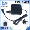 Europe plug High quality factory Laptop Adapter Tingxing brand for asus 19V3.42A65W Notebook charger 4.0*1.35MM
