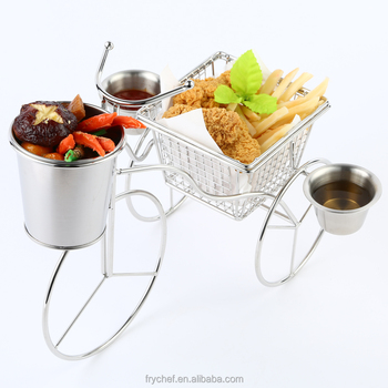 Food Display Holder/Carnival Serving Stand/Stainless Steel F0120