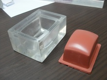 Acrylic Transparent Silicone Pad Printing Pad Mold, Pad Printer Head Mould