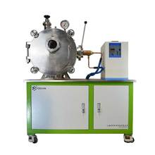 YZE 1700c low vacuum gas induction melting heat furnace