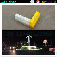 Factory price plastic led lighting curbstone for sidewalk