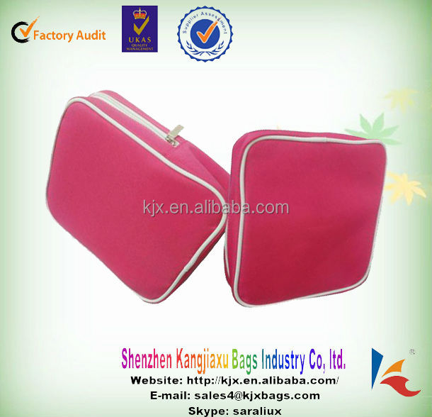 roll up cosmetics bags rose makeup brush pouches