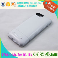 HOT 1700mAh Multi-Function Power Bank Backup Battery Charger Case For iPhone 5