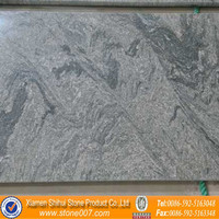 Grey Granite Tiles for countertops with Water Wave