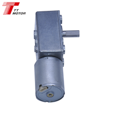 Standard high quality low speed dc worm gear motor TWG3246-TEC2430 for electric scooter