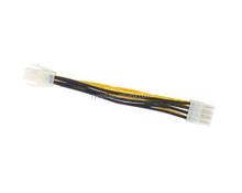 custom 4pin male to 8pin CPU power ATX wire harness assembly