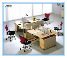 Cheap cubicles/wooden table top office modular partitions sale