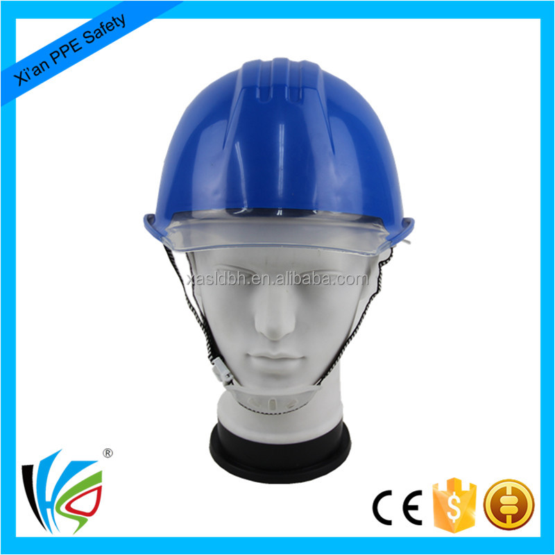 High Quality Comfortable ABS Safety Helmet with Transparant Visor