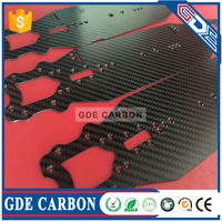 material of carbon fiber electric bicycle CNC Carbon fiber sheet
