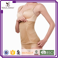 Breathable Body Shape Support Zipper Girdles And Shapers