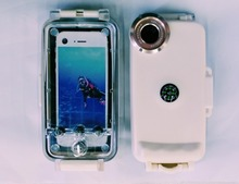 Hot Selling Best Quality Waterproof Cover Case With Mobile Lens for Diving Outdoor Life For Iphone6/6Plus