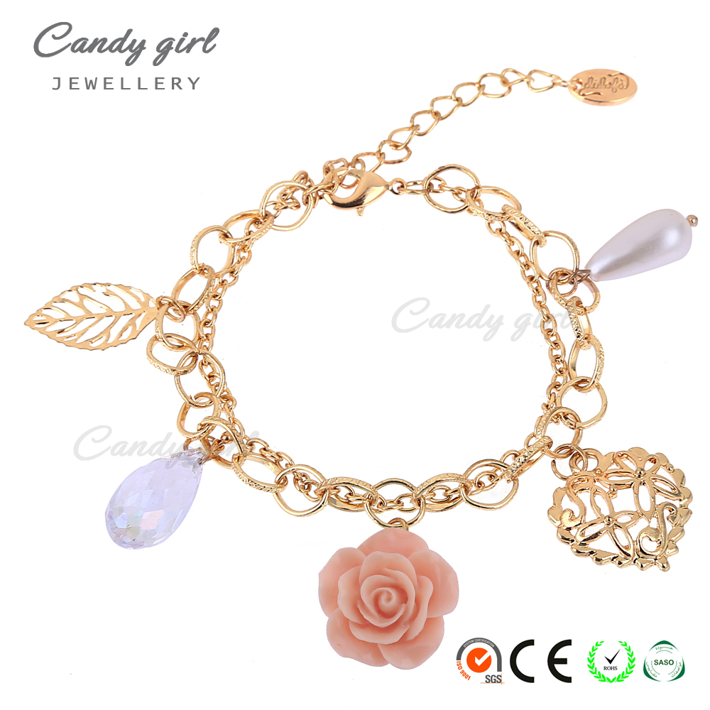 Candygirl Brand 2017 Accessories Flower Leaf