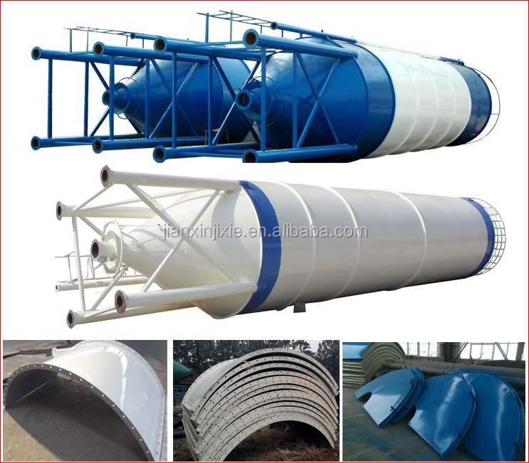 China 80 ton 200 ton 300 ton 500 ton cement silo