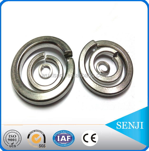 SUS316 conical spring lock washer for screw and washer assemblies , nut bolt manufacturing machinery price