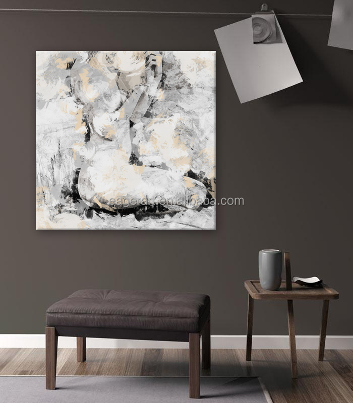 Wall Picture Digital HD Print Sex Nude Women Painting on Canvas