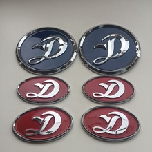Custom high quality ABS car emblem and metal car badge and metal car sticker and auto grill