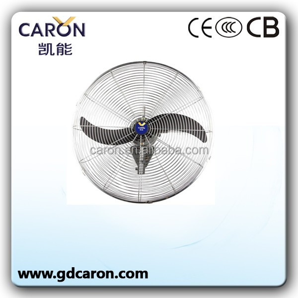 75cm Industrial Wall Mounted Fan Cooler Mount Oscillating 3 Speed fan