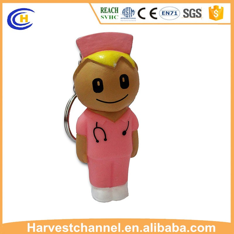 Custom doctor figure shaped USB flash disk for promotion