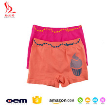 Songml 2017 fashion new style young girls panties kids underwear model custom