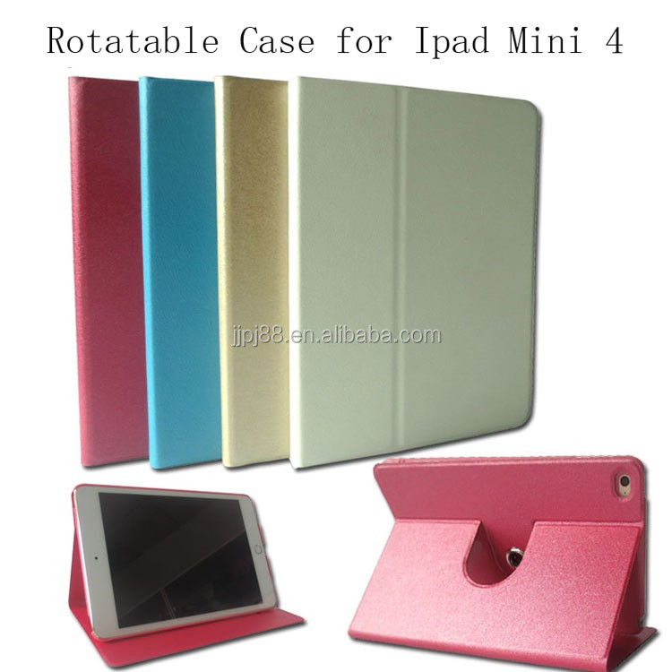 New Arrival 360 Degree Rotatable Case For Ipad Mini 4 Good Quality Tablet Case, Stand Case For Ipad