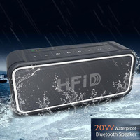20W Stereo Bluetooth Speaker Portable Wireless Car Subwoofer