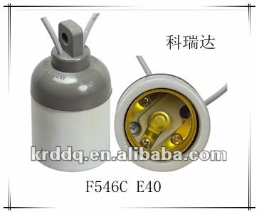 E40 porcelain types of lamp socket sizes