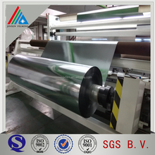 aluminum metallized polyester film met silver pet