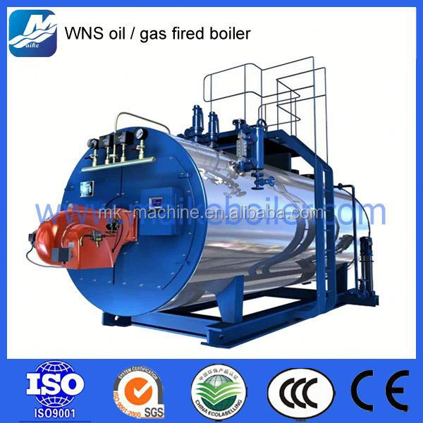 Gas heat boiler for home heating gas system boiler