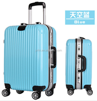 Aluminum frame luggage aluminum alloy rod eminent trolley luggage travel suitcase hard luggage