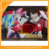2016 Inflatable Jumping Slide,Bouncy Slides,Mickey Minnie Slides