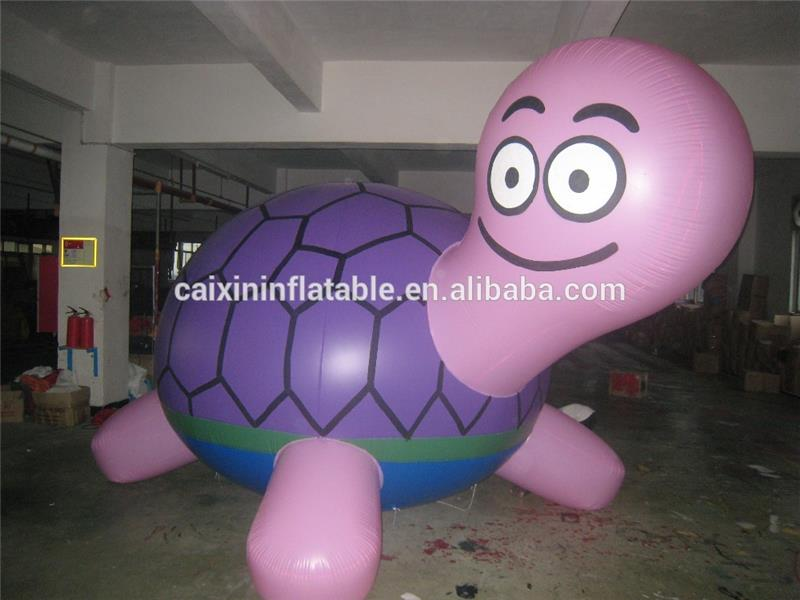 helium inflatable sea turtle animal flying for advertising