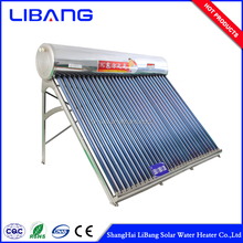CE Approved Mexico calentador solar water heater other parts