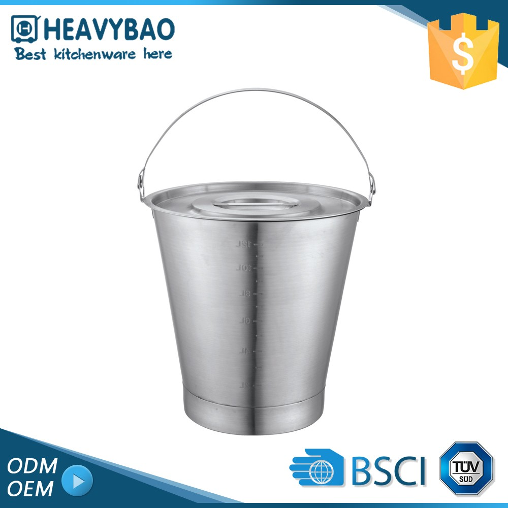 Heavybao 100% Warranty Large Stainless Steel Ice Bucket Wine