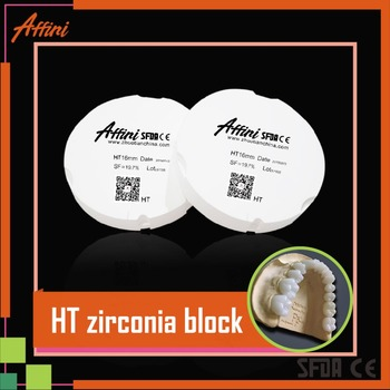 Alibaba product ceramic zirconia disc for dental cnc milling machine