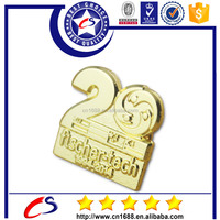 Shenzhen gifts & crafts cheap custom metal pin badge with your own design