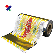 fruit jelly/cookies packaging film in roll