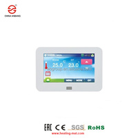 Anbang New HT10 Series color touch screen 4 programs room thermostat for floor heating
