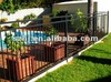 Galvanized swimming pool fence
